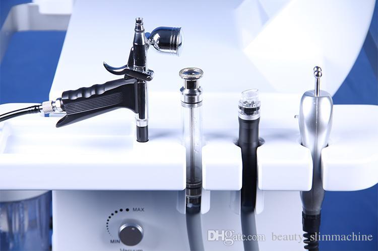 Alta qualidade hidra microdermoabrasão peeling facial hydrafacial máquina / spray de oxigênio hidro microdermoabrasão água da máquina de cuidados faciais CE / DHL