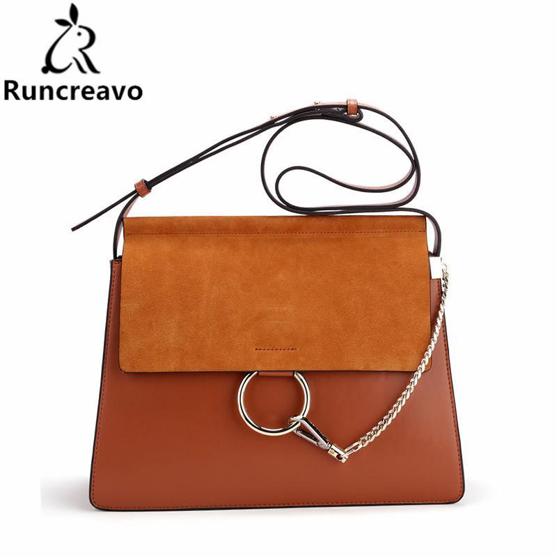 56b5b0bbe5f9 2018 Hot Sale Famous Brand Design Women Handbag High Quality Genuine  Cowhide Leather Cloe Bag Casual Chain Shoulder Bag Ladies Handbags Leather  Handbags ...