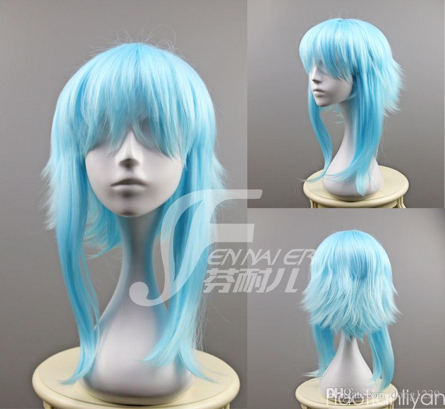 Light Blue Anime Character Sword Art Online Asada Shino Halloween