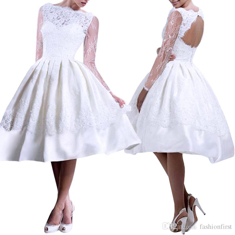 Wholesale Womens Ladies New Sexy White Sleeveless Sexy Hollow Out Lace Prom Swing Mini Party Skater Wedding Dress Free shipping