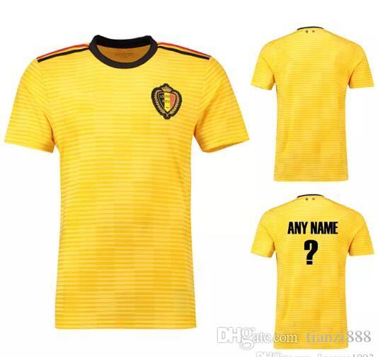 a3cbdf3fa14 2019 2018 World Cup Belgian Away Soccer Clothes, National Team Jersey,  Adult Soccer Suit.Belgian Football Shirt From Tianzi888, $16.05   DHgate.Com