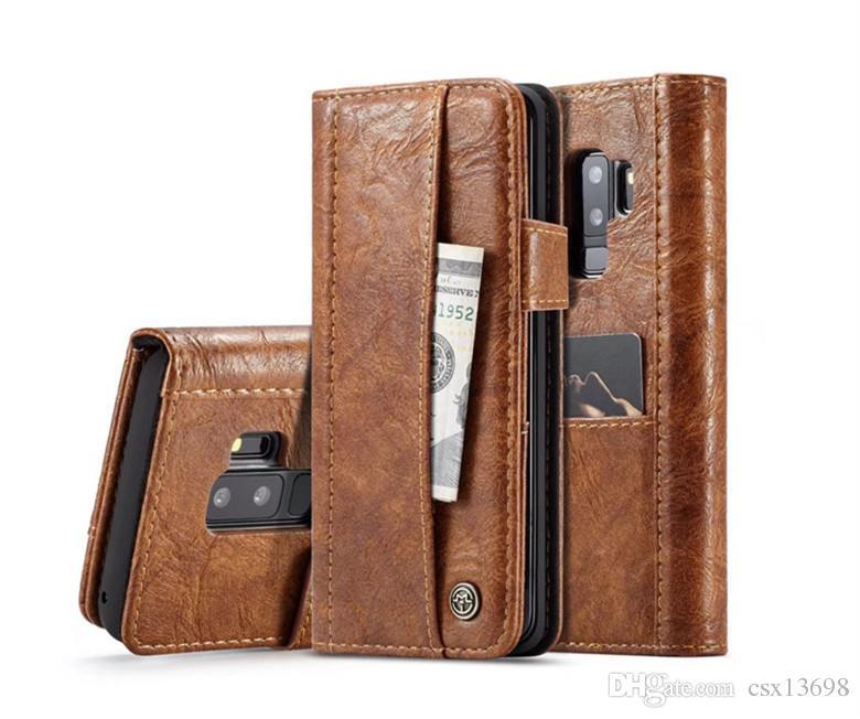 S9 Luxury Designer Fashion Type Famous Wallet case for iPhone X 8 7 6 6s Plus Galaxy S8 S7edge Fashion Flip cases