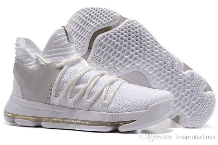 scarpe kd 10 uomo bianche