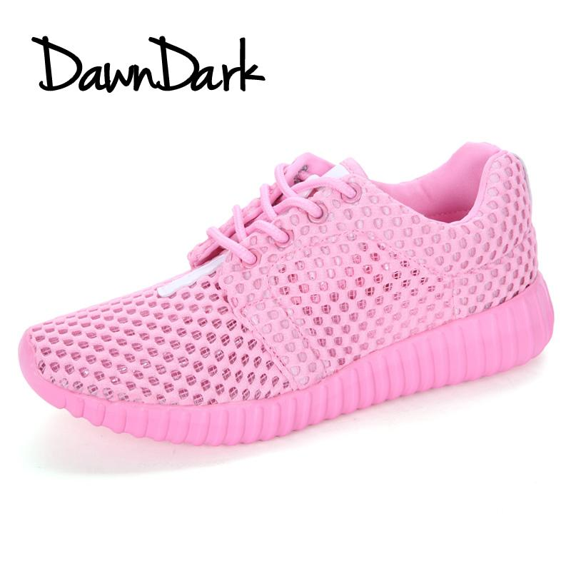 best service 4a0d3 2ee61 Women s Sport Running Shoes Lightweight Lace-up Female Walking Sneakers  Breathable Mesh Ladies Athletic Shoes