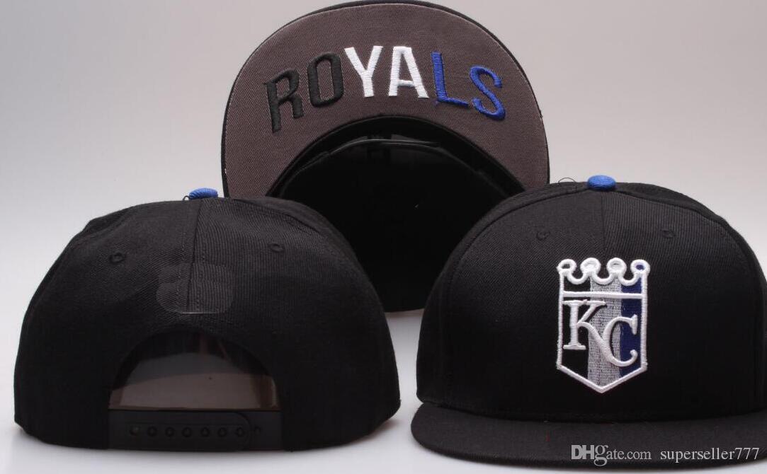 New Brand Designing Kansas City Hat KC Logo Cap Men Women Baseball Caps  Snapback Solid Colors Cotton Bone European American Fashion Hat 002  Snapback Caps ... 58229c98ed6