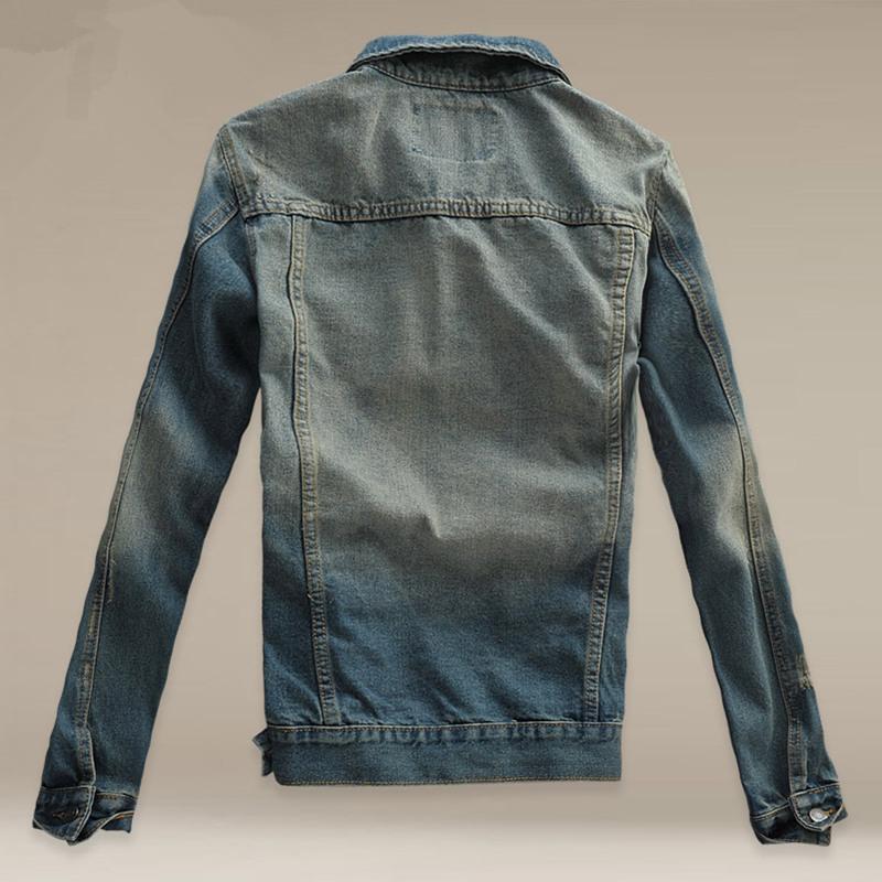 O novo 2017 homens casaco botão de cor pura roupas de cowboy cultivar a moralidade dos homens jaqueta casaco lapela espartilho sem chapéu