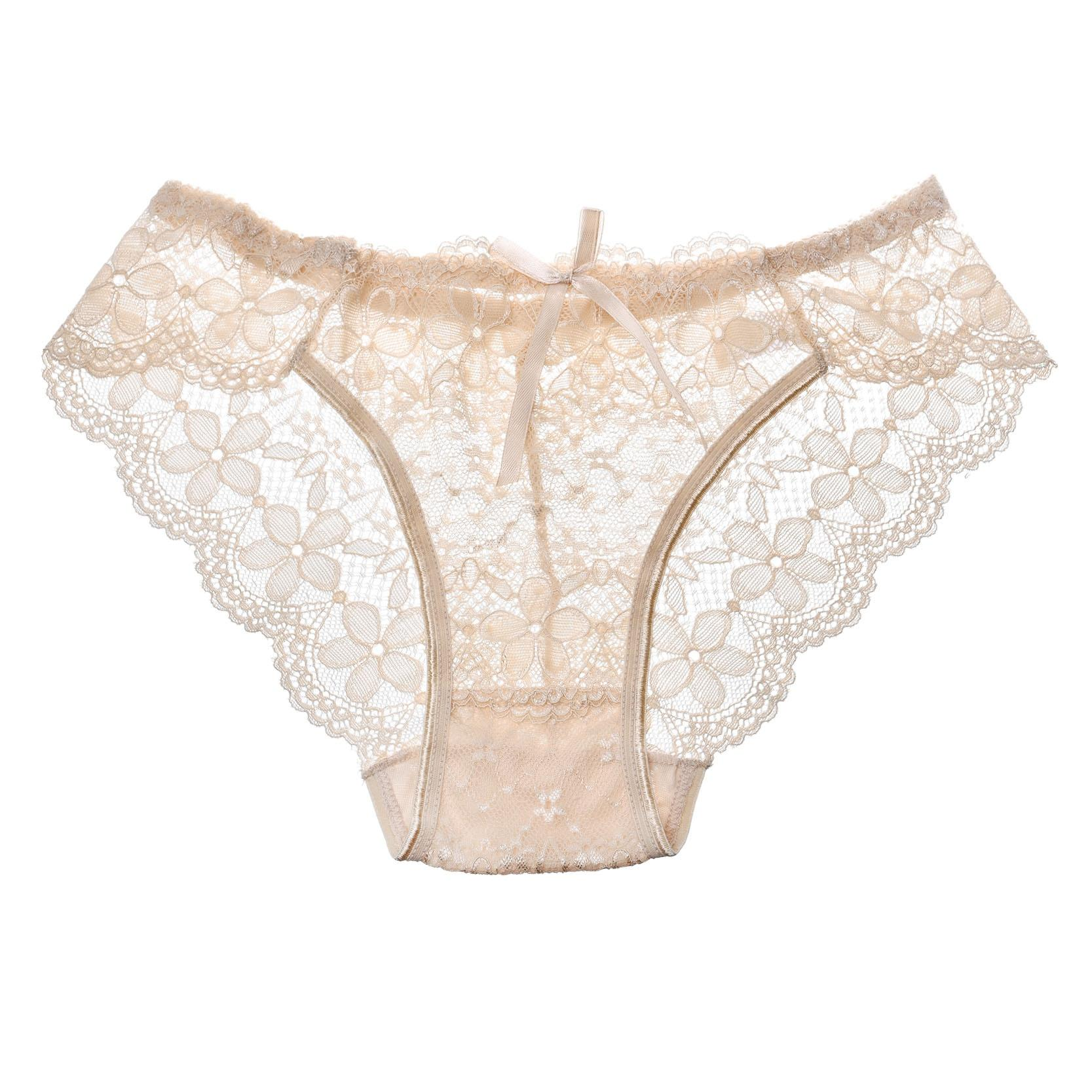 Hot Sale Sexy Lace Seamless Panties Underwear Women Breathable Panty Hollow Transparent Panties Brand Quality 2017