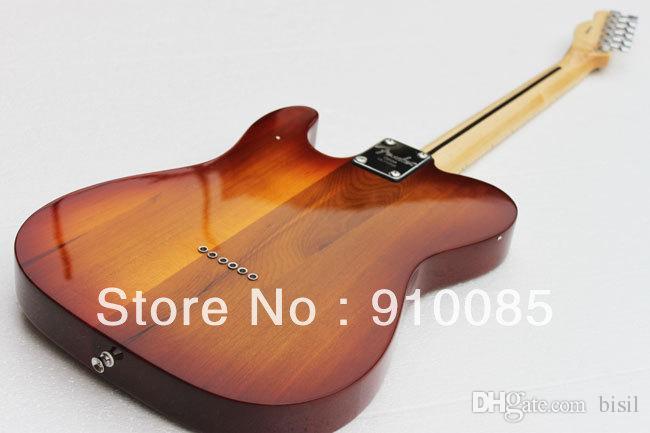 Spedizione gratuita CALDO! Alta qualità chitarra elettrica standard Telecaster Ameican in stock