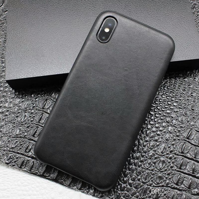 3610d1cb7f5d5b High Quality Leather Case For Apple IPhone X Iphone 10 8 7 Plus Samsung  Galaxy S9 S8 Plus Genuine PU Leather Cover New Cases For Cell Phones Cell  Phone ...