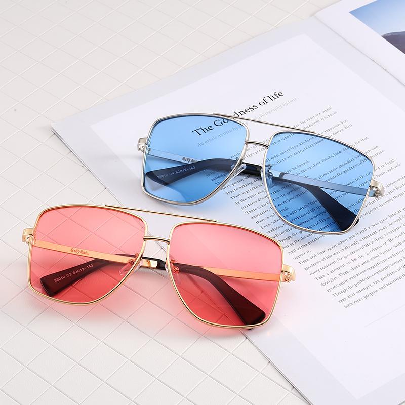New Luxury Sunglasses 88019 Famous Men Women Brand Designer Rectangle  Sunglasses Unisex Fashion Style 100% Uv Protection Lens Summer Glasses  Black ...