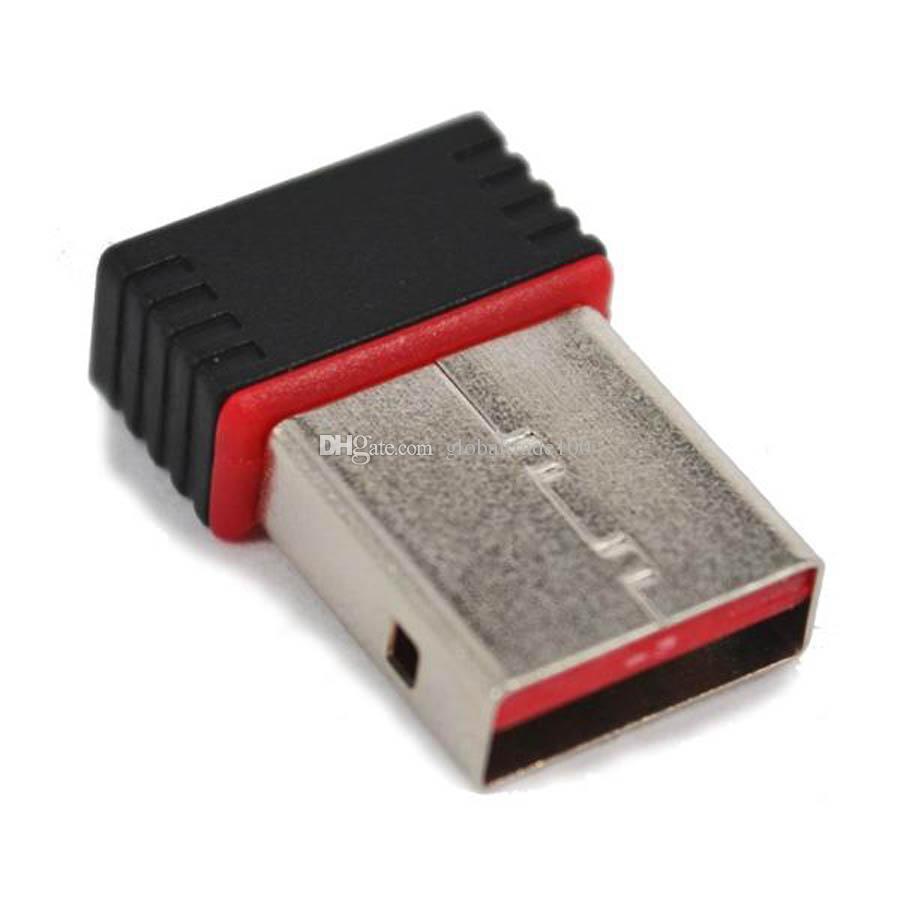 150M USB Wifi Adapter 150Mbps Wireless N 802.11 b/g/n Ralink RT5370 Mini Network Card Free DHL