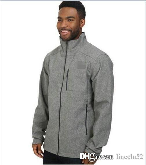 1d15c43b7 The North Mens Soft Shell Winter Jackets Fashion Casual Warm ...