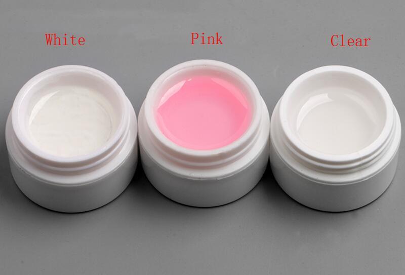 Smalto unghie Gel Gel Polish unghie i Soak Off Clear Camouflage Nail Extension le unghie Manicure francese trasparente