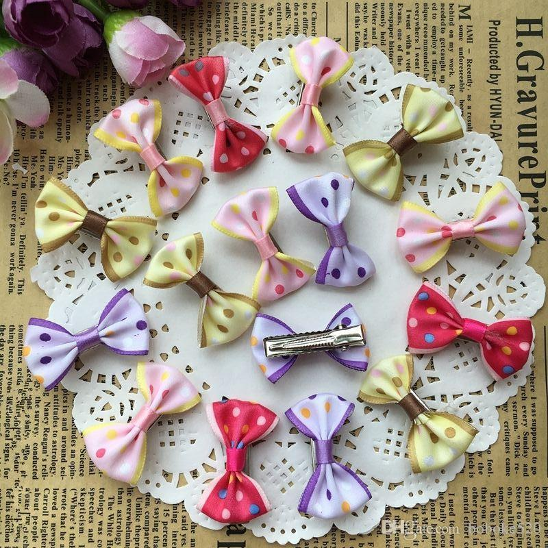 52eca1802de3 1.4 Satins Small Bow Kids Baby Girls Hair Clips Hairpins Barrettes Hair  Accessories Gifts Hair Accessories For Wedding Black Hair Accessories From  Boboke520 ...