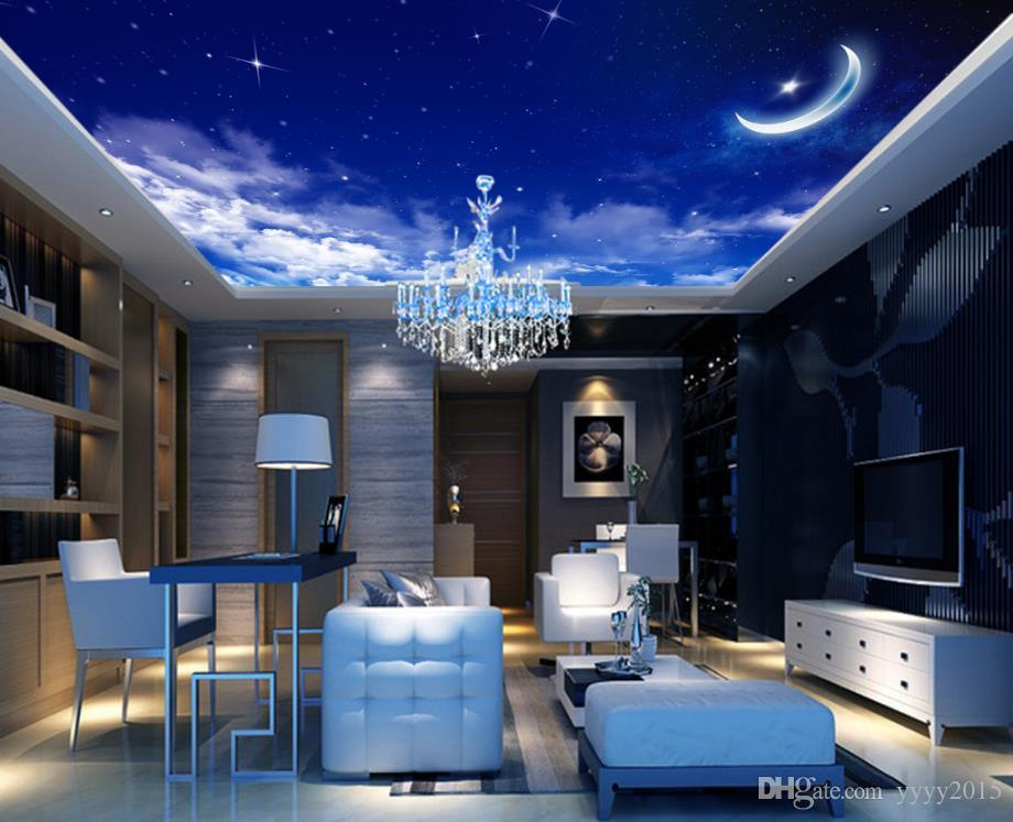 Space Decorations Fantasy Star Moon Ceiling Ceiling