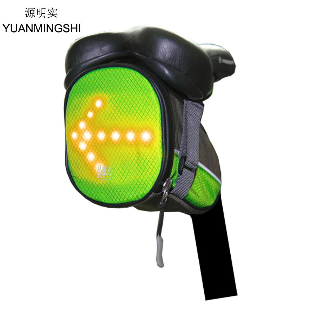 30f6a189ca53 Men Women Travel Bags With LED Safety Turn Signal Light Reflective Bag With  Remote Control For Teenagers Safety Travel Bag School Bags Messenger Bags  From ...