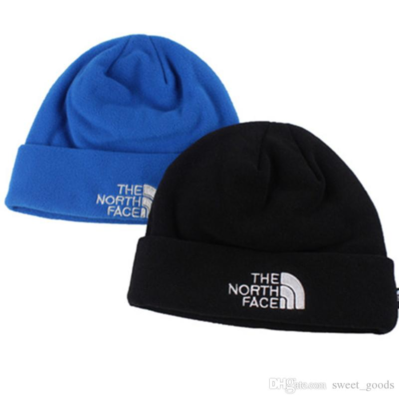 dc8035a4781 NF Brand Winter Hat The North Polar Fleece Winter Beanie Skull Caps for Men  Women Outdoor Skiing Snood Hats Warm Hip Hop Cap Ear Muff the North Hat  Online ...