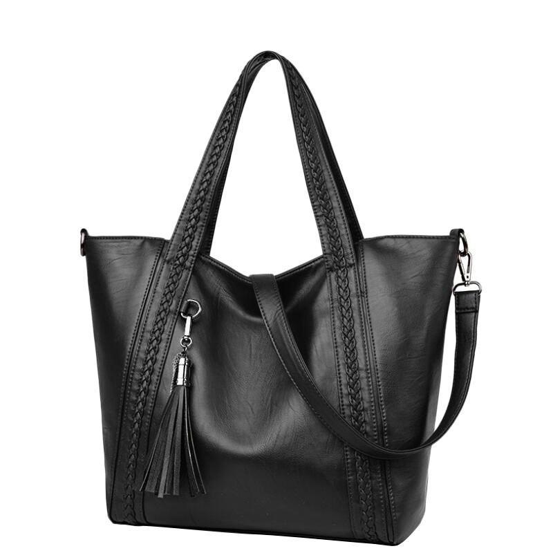 b70f5db3ddf3 Soft Leather Women Crossbody Bag Casual PU Women Handbags Fashion Messenger  Bags Luxury Big Female Tote Bolsa Feminina Leather Purse Womens Purses From  ...