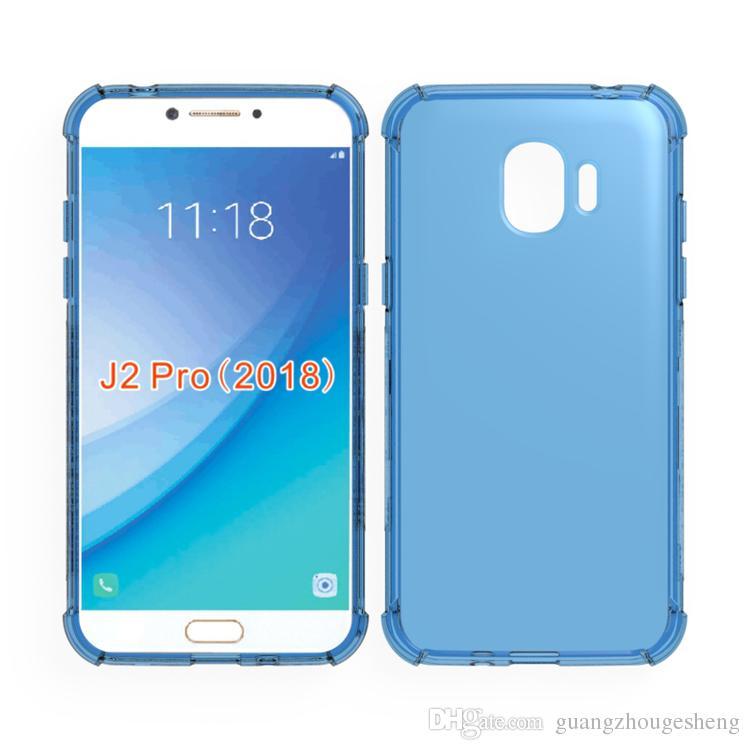 brand new c7613 0b30e For Samsung Galaxy J2 Pro 2018 J250 J250F Grand Prime Pro J6 2018 J4 2018  Clear Case Anti Knock Edge Transparent TPU Cover UK 2019 From ...