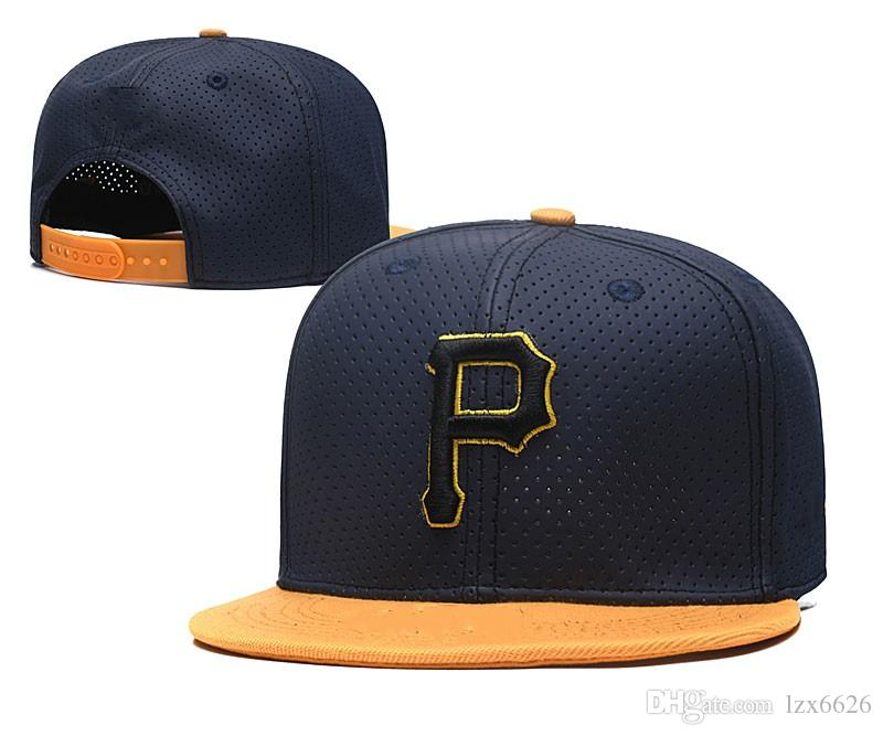 One Piece 2018 Pirates Baseball Hats Men S Team Letter P Embroidered Team  Logo Baseball Caps Brands Flat Bill Sport Adjustable Hat Bones Army Cap  Cheap Hats ... 4b0cbcc547e