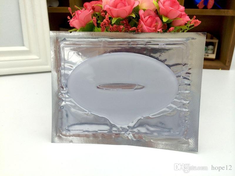 300 pcs DHL Hot Sale Colágeno Cristal Lip Máscara Membrana Umidade nova Máscara de Lábio Essência em estoque frete grátis