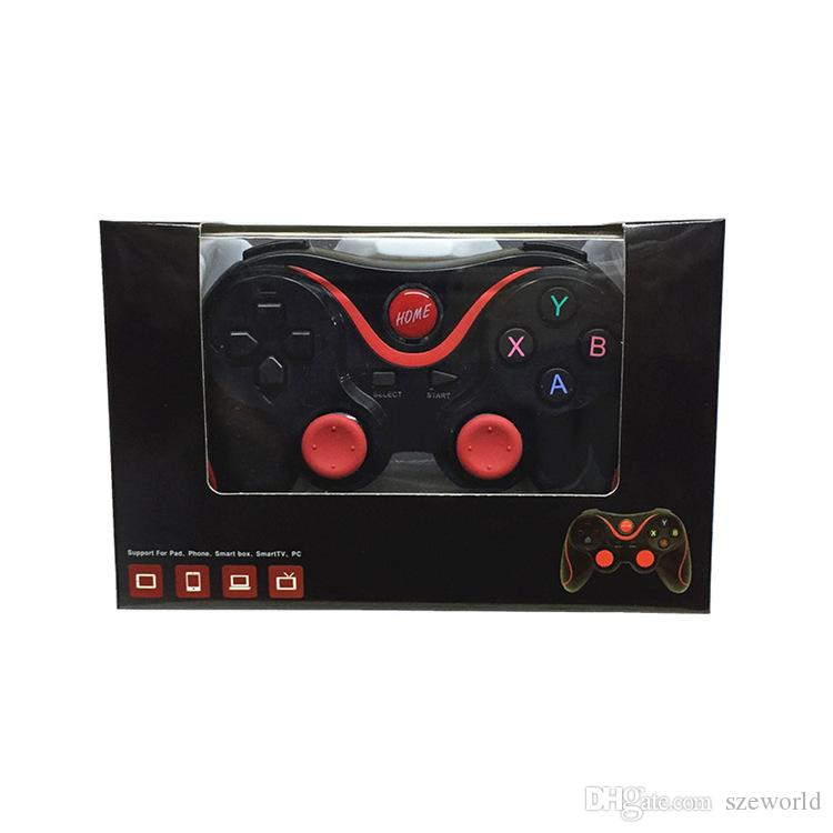 X3 Gamepad Smart Phone Wireless Bluetooth Game handle Controller Remote Control for Tablet PC Android Smartphone