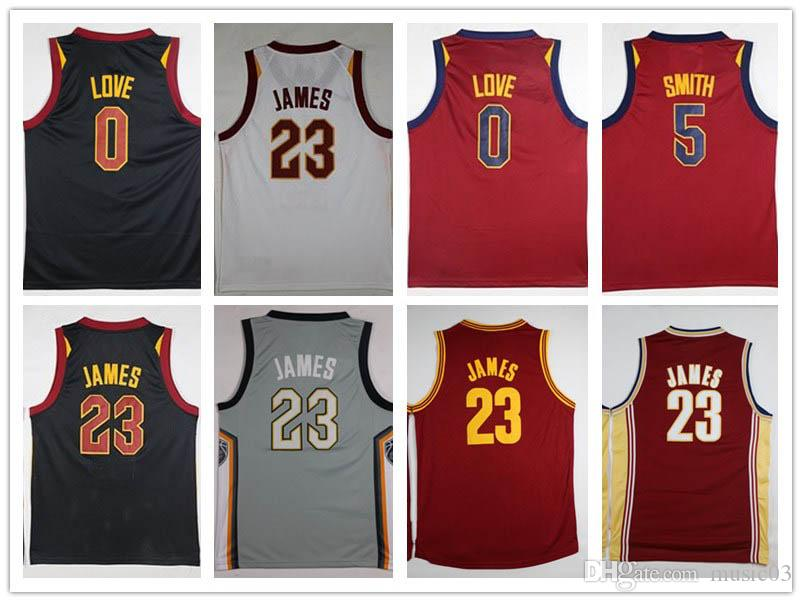 2018 Cleveland 23 LeBron James Jerseys Men The Land City Edition ... 688b6f923