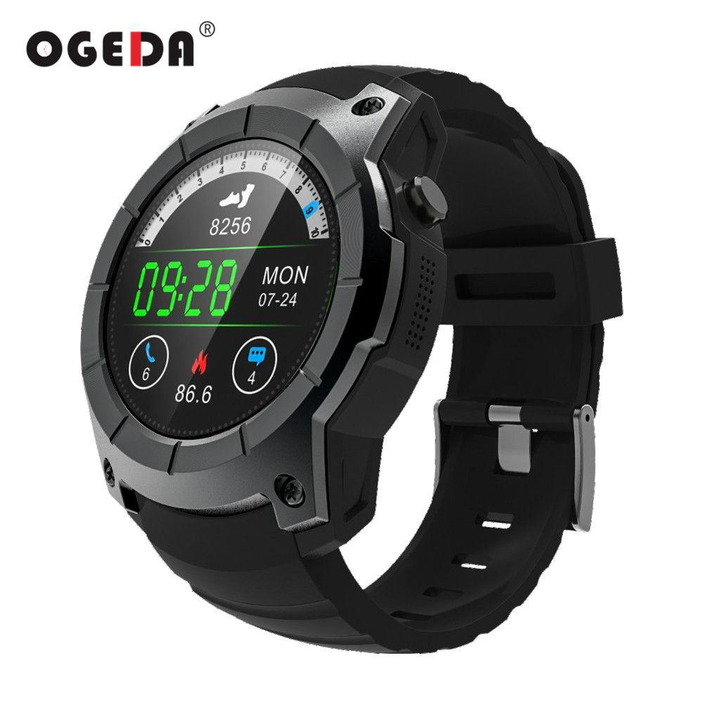 OGEDA Men GPS Smart Watch 2018 Sport Heart Rate Barometer Monitor Smartwatch  Multi Sport Model Smart Watch For Android IOS S958 Online Watch Buy Online  Buy ... ca55cc3ee34e