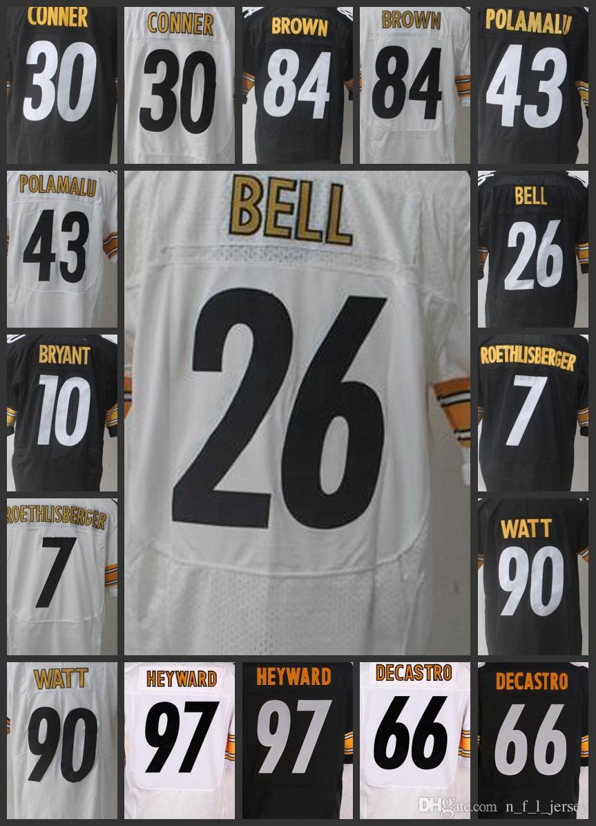 58d67e9e347 Men Pittsburgh Steelers Limited  30 James Conner Women Jerseys 43 ...