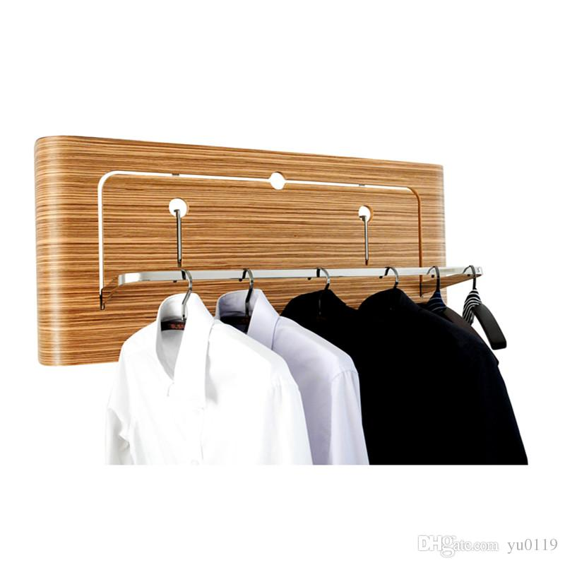 Creative Coat Rack Wall Mounted Use For Hotel Home Wall Hangers Adorable Coat Rack With Hangers