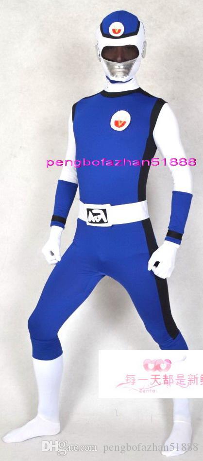 Unisexe Super Hero Costumes Outfit Nouveau 5 Couleur Lycra Spandex Superhero Catsuit Costumes Fantasy Superhero Costume Halloween Cosplay Costume P252