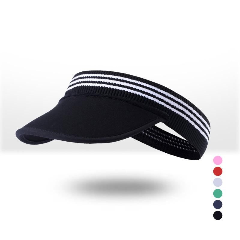 ad74106d9 Men and women apply outdoor sports empty top hat summer cool foldable soft  skull with cap no top sun hat sunscreen tennis cap