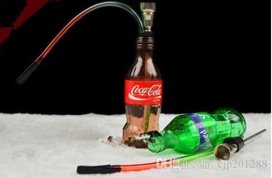 Yeni Sprite cam su şişesi Toptan Cam bongs Yağ Brülör Cam Su Boruları Petrol Kuleleri Sigara Ücretsiz