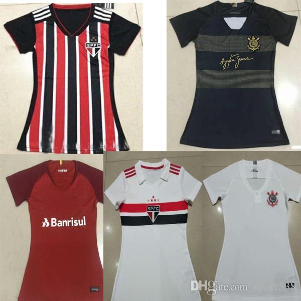 033569272 Compre 2018 2019 Mulher Sao Paulo Corinthian Paulistai Internacional Camisa  De Futebol 18 19 CLAYTON JADSON ROMERO PABLO Camisas De Futebol De  Sport538