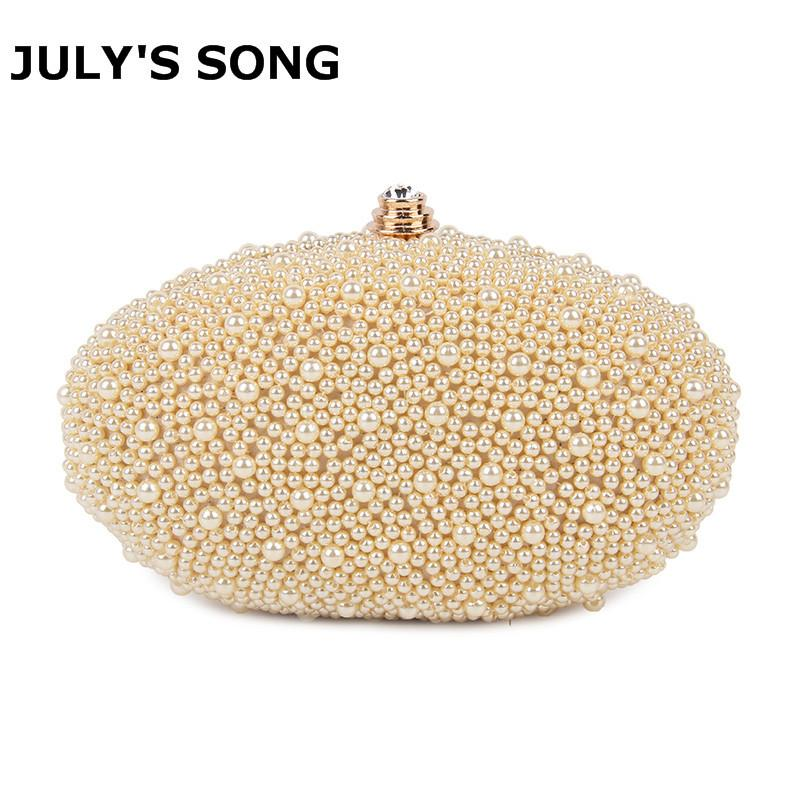 Pearl Beading Evening Bag Bridal Wedding Party Diamond Clutch Purse Small  Chain HandBags Day Wallet Purse Banquet Mini Pearl Bag Y1890401 Leather  Purses ...