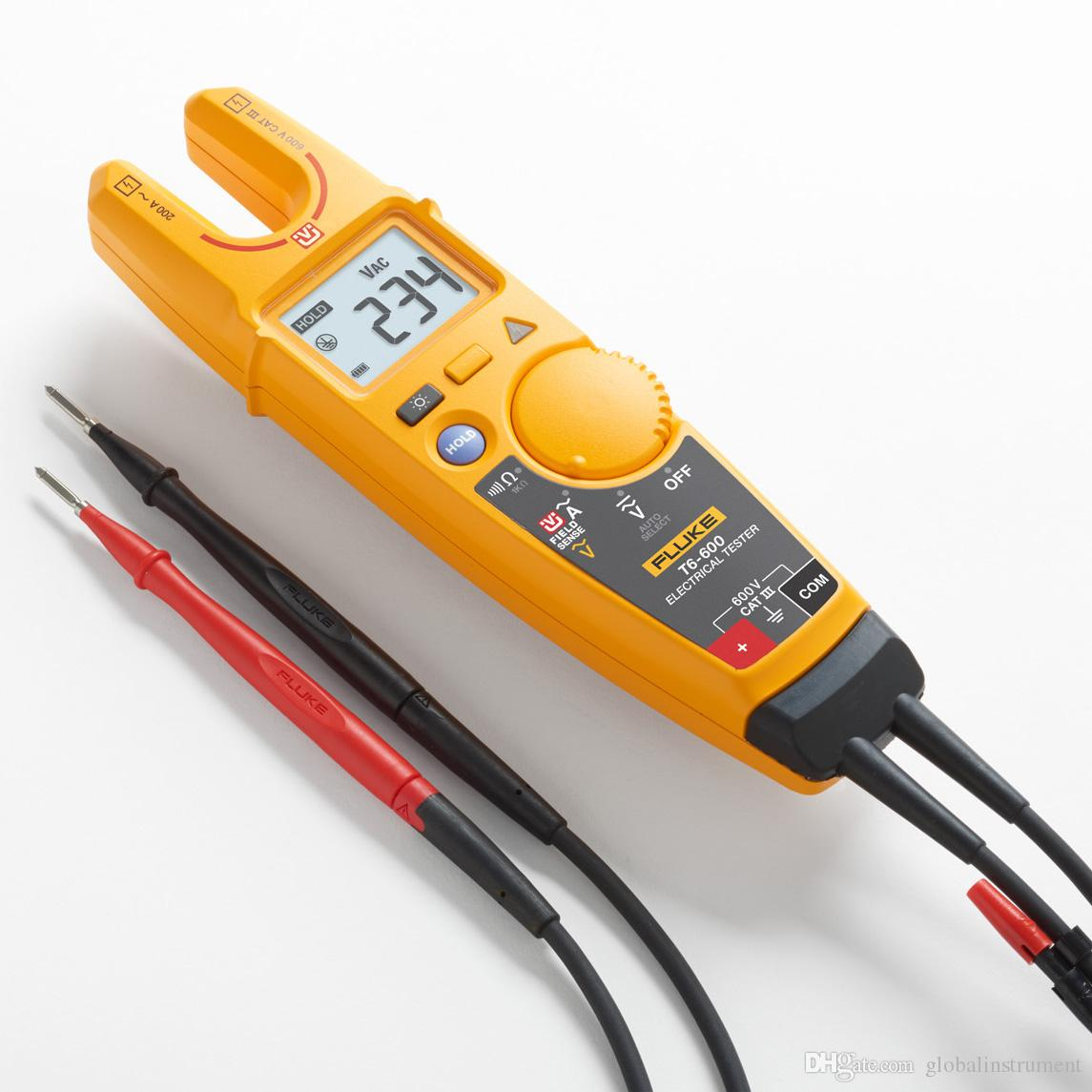 Fluke T6 600 Clamp Continuity Current Electrical Tester Brand New About Ac Voltage Detector 90v To 1000v Live Circuit Online With 16229 Piece On Globalinstruments Store