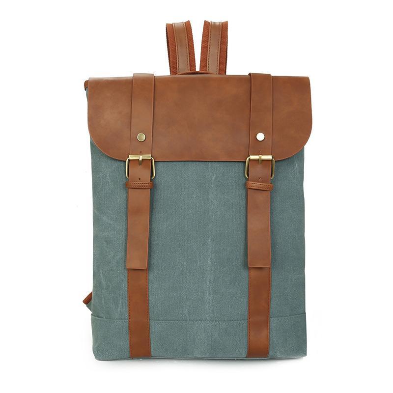 13293c027c15 2018 New England Retro Men Male Canvas College School Student Backpack  Casual Rucksacks Travel Bag Laptop Bags Women Bags Hot Drawstring Backpack  Black ...