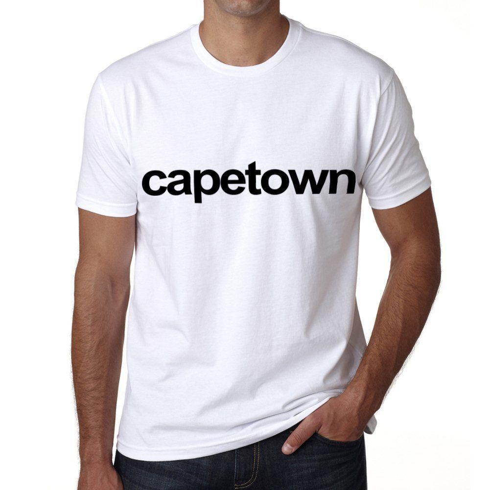 e0d5295a525 Cape Town Tshirt Col Rond Homme T Shirt
