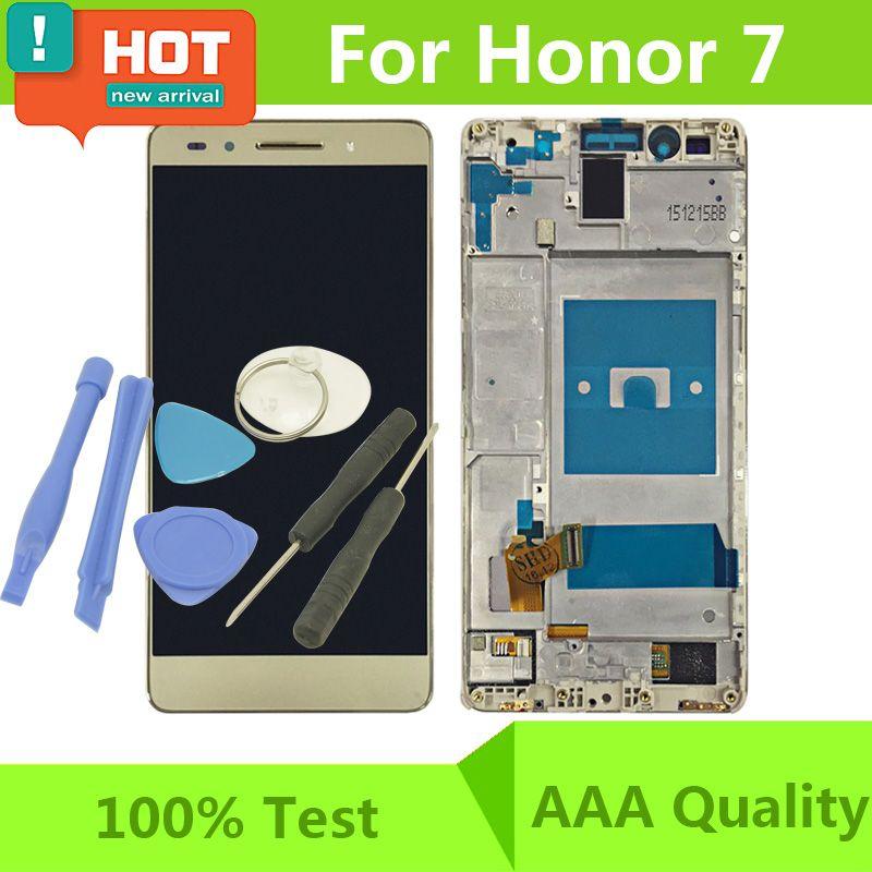 Touchscreen Handy Ohne Vertrag 100 Test Für Huawei Honor 7 Lcd