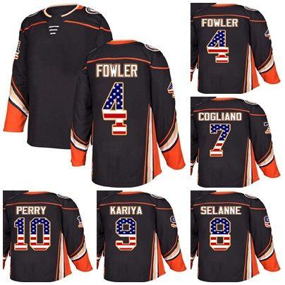87fdd49c7 Custom Mens Momens Kids Anaheim Ducks 4 Cam Fowler 7 Andrew Cogliano ...