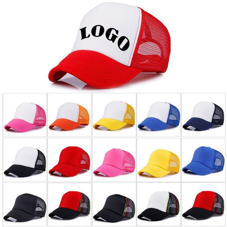 bf6aceb7 Kids Trucker Cap Adult Mesh Caps Blank Trucker Hats Snapback Hats Acept  Custom Made Logo T1C363 Vintage Baseball Caps Cap Shop From Tina317, $1.16|  DHgate.