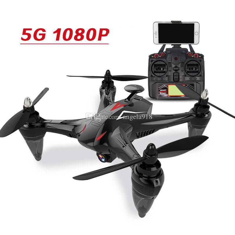 5G GW198 Fırçasız Yarış Drone GPS Hover Ile 400 M Drone Kamera Helikopter Radyo Kontrol Küresel Drone C4398