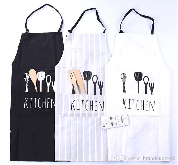 Grembiule Da Cucina Uomo.Grembiuli Da Cucina Cuoco Cotone Moda Unisex Donna Uomo Ristorante Commerciale Cucina In Stile Europeo Grembiuli Da Lavoro Abiti Da Lavoro 3 Colori