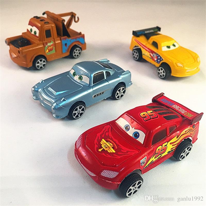 Cartoon Diecast Inertia Auto Modell Widerstand Zu Fallen Hot Wheels Fahrzeug Bildung Spielzeug Kinder Geschenke Für Kid 7sy Yy