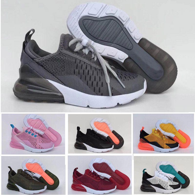 on sale 0afea 24097 Compre Nike Air Max 270 27c Niños 270 Zapatos Niños C Malla Zapatillas  Niños Niñas Alta Qaulity 270c Senderismo Jogging Caminar Zapatos Casuales  Al Aire ...