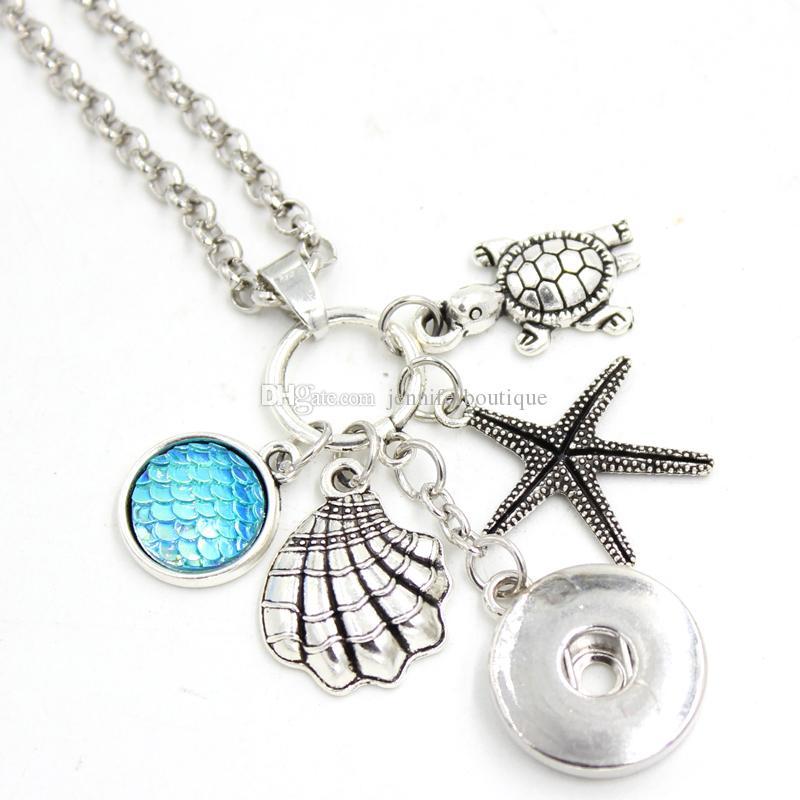 20pcs Petite Sirène Princesse METAL Charm Pendentif À faire soi-même Collier Jewelry Making