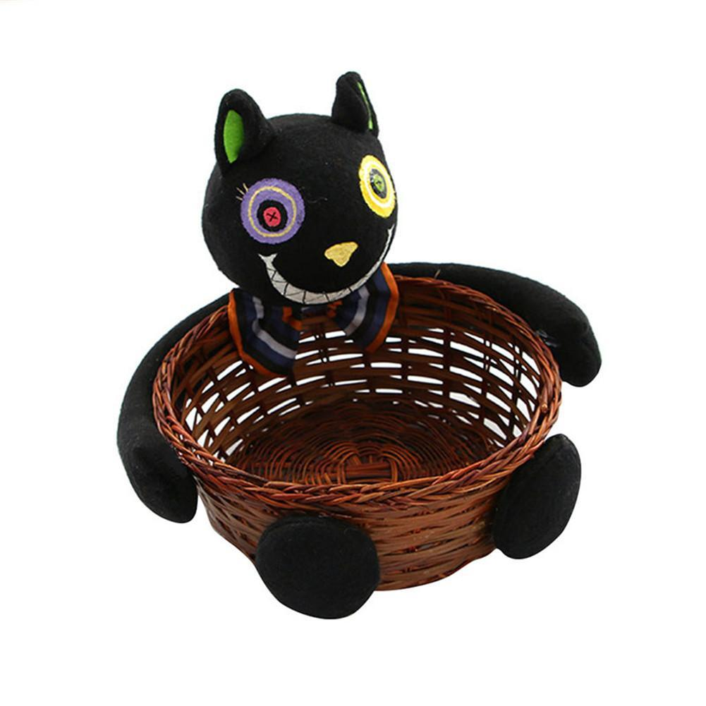 2018 wholesale halloween witches ghosts bats pumpkins candy basket