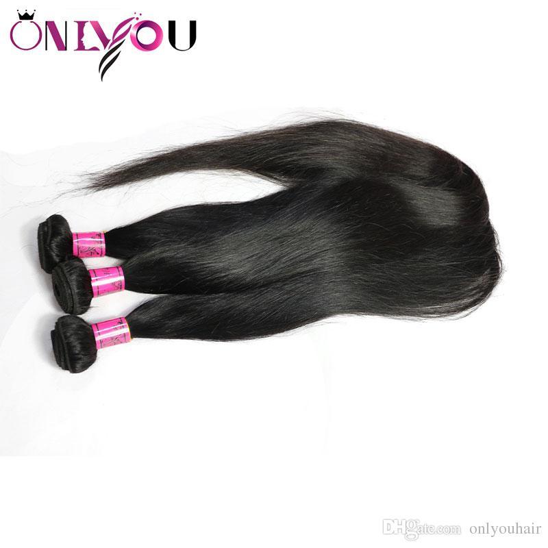9a brasiliana vergine diritta dei capelli umani 4 fasci da 30 pollici Lordo 32 34 36 pollici peruviano dei capelli umani del tessuto Bundles Wet ondulate estensioni