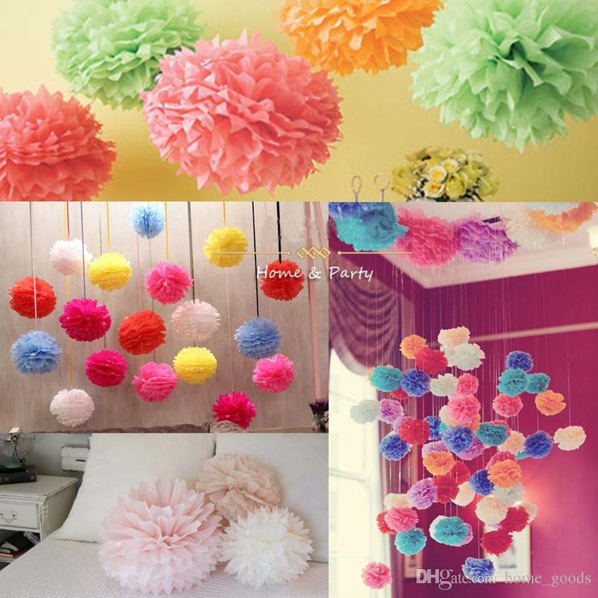 2018 Birthday Party Wedding Decorations Artificial Flowers Tissue