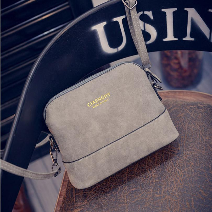 8a3870b8a35 LIXUN Super Deal Fashion Women Letter Shell Bag Leather Handbags ...